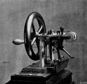 Elias Howe's 1846 sewing machine