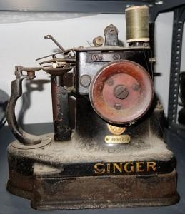 A Singer fur sewing machine
