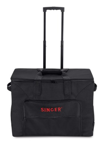 singer rolling sewing machine tote bag