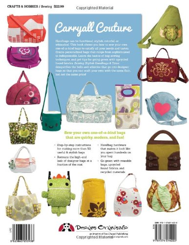 Sewing Stylish Handbags Totes Chic To Unique Bags Purses That You Can Make