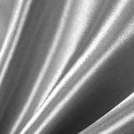 "1 X Silver Satin Fabric 60"" Inch Wide - By the Yard - For Weddings, Decor, Gowns, Sheets, Costumes, Dresses, Etc"