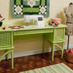 Arrow 1014 Florie Sewing Cabinet in Pistachio