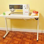 Arrow Sewing Cabinet Gidget2 Sewing Table - White