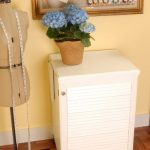Arrow 98501 Compact Sewing Cabinet - white finish