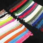 "Assorted 7"" Zippers #3 For Skirt & Dress Pack 25"