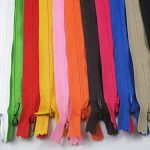 YAKA 33pcs Nylon Invisible Zippers Tailor Sewing Tools Garment Accessories 11 Inch Invisible Zippers 11 Color