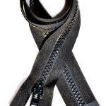 "32"" Vislon Zipper ~ YKK #5 Molded Plastic ~ Separating - Black (3 Zippers / Pack)"