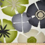 Robert Allen @ Home Pure Petals Greystone Fabric