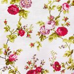 """Daffodils Flower Poly Cotton, 58""""/60"""" Inches Wide - Sold By The Yard (FB)"""