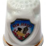 New Jersey State Souvenir Collectible Lpco Thimble