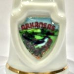 Arkansas Souvenir Collectible Lpco Thimble