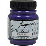 Jacquard Products Jacquard Textile Color Fabric Paint, 2.25-Ounce, Violet