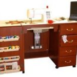 Arrow Model 98302 Sewing Machine Credenza with Airlift
