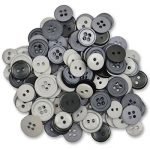 Blumenthal Lansing Favorite Findings Buttons, Cloudy, Assorted, 130-Pack