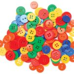 Blumenthal Lansing Favorite Findings Basic Buttons Assorted Sizes, 130/Pkg, Primary