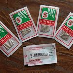 50 Pieces Singer Needles Regular Point (2020) Size 90/14~Five packs of 10 needles