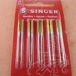 Genuine Singer Ball Point Sewing Machine Needles 2045 - Sizes 90/14- 10pcs Pack