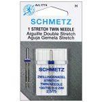 Schmetz Stretch Twin Sz.2.5/75