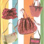 Simplicity 5 Styles Handbags Pattern Sewing 4673