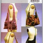 Butterick B4944 Craft HoBo Shoulder BAg Sewing Pattern Bags Purses
