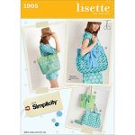 Simplicity Lisette Sew Your Style Pattern 1905 Five Unique Bags and Cosmetic Case