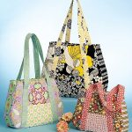 McCall's Patterns M5822 Tote Bag In 3 Sizes, One Size Only